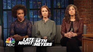 Women of Late Night React to Harvey Weinstein