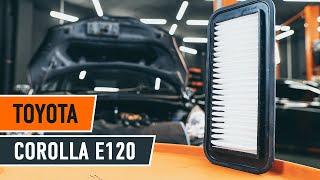 Manualul proprietarului Toyota Corolla e12 online