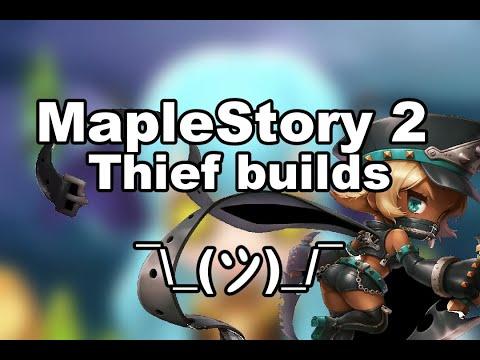 thief maplestory 2 build