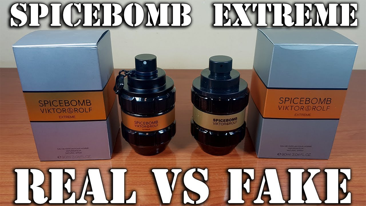 1b4613260182 Fake fragrance - Spicebomb Extreme by Viktor & Rolf - YouTube
