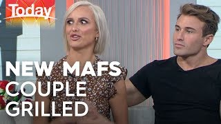 Today hosts grill newest MAFS couple   TODAY Show Australia