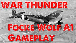 War Thunder: Focke Wolf 190 A1 Gameplay