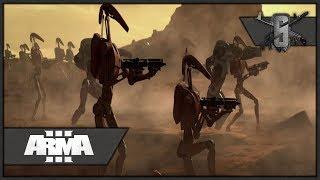 Clones Liberating Prisoners   ArmA 3 Zeus Star Wars Opposition Mod Gameplay 1440p60