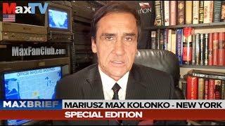Max Kolonko - Zabójstwo Prez. Gdańska, Mayor of Gdansk Deadly Stabbing CC ENGLISH