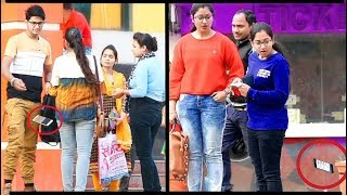 Breaking girls smart phone prank #BreakingSmartPhonePrank #BestPrank #India