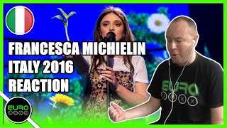 🇮🇹 ITALY EUROVISION 2016 REACTION: Francesca Michielin - 'No Degree Of Separation' | ANDY REACTS!