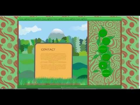 Alligator Flash Designer Green&Brown Template