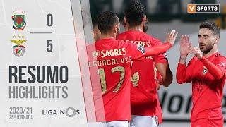 Highlights   Resumo: Paços de Ferreira 0-5 Benfica (Liga 20/21 #26)