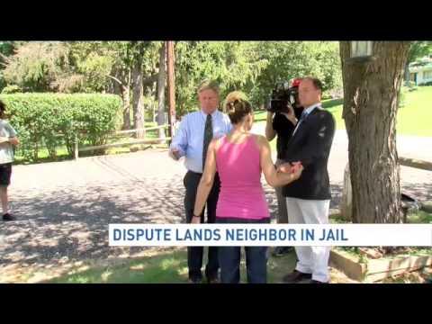 Dispute lands neighbor in jail