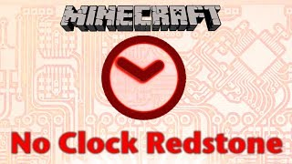 Minecraft NO CLOCKS Redstone Thumbnail