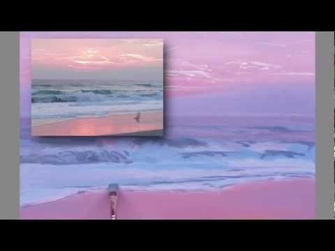 Painting Waves at Dawn, part 2