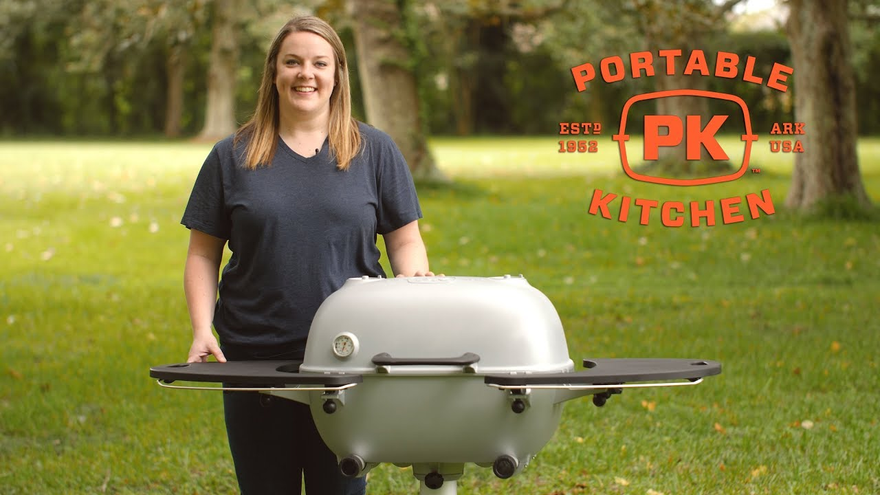 Portable Kitchen Pk360 Cast Aluminum Charcoal Grill Review Bbqguys