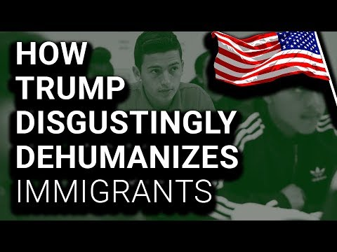 """To Trump, Americans """"Have Kids,"""" But Immigrants """"Breed"""""""
