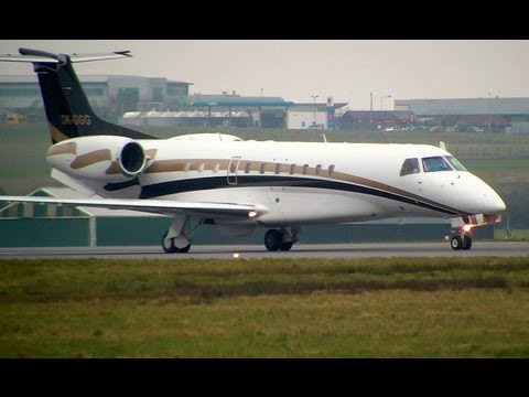 Embraer Legacy 600 Private Jet Transatlantic Takeoff