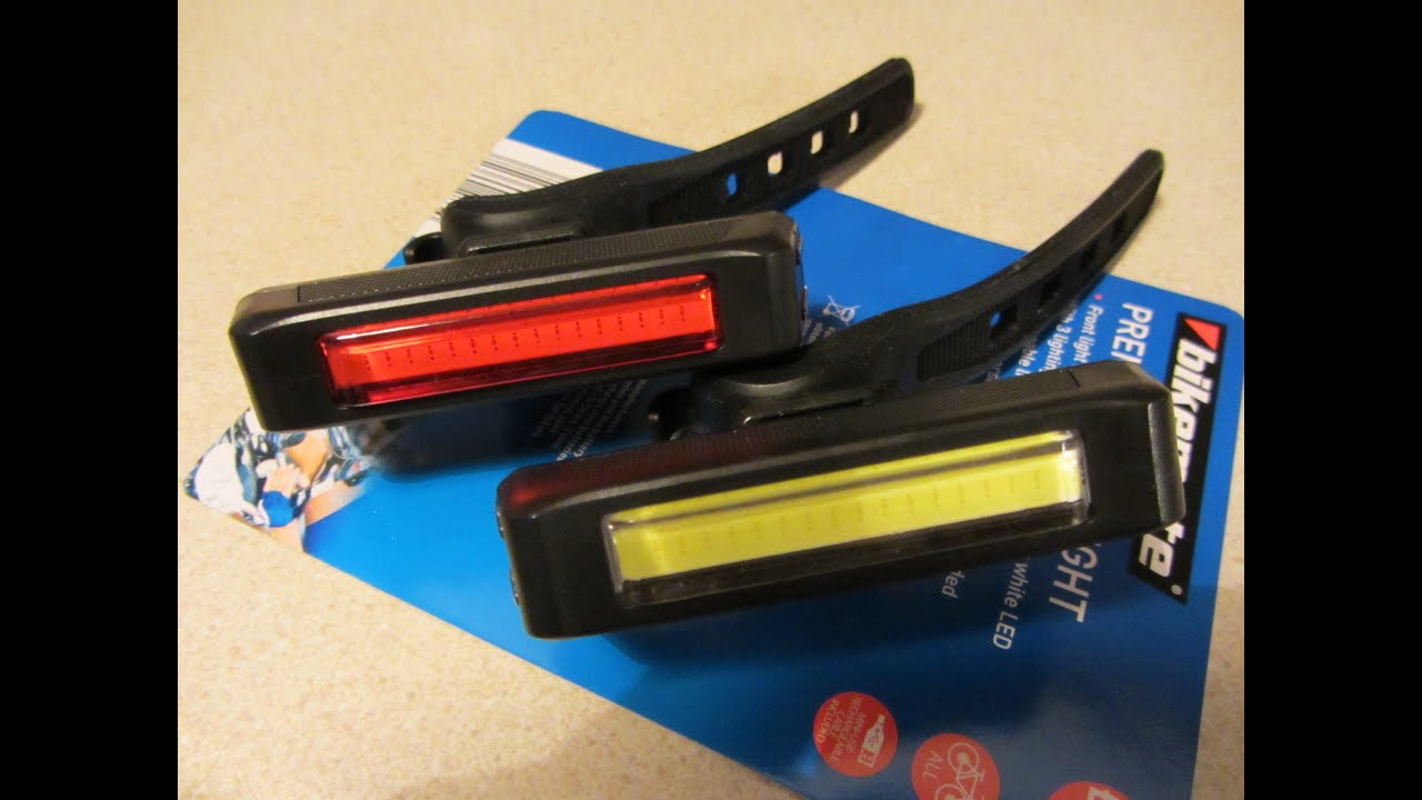 Aldi Premium Cycle Lights 2015 Doovi