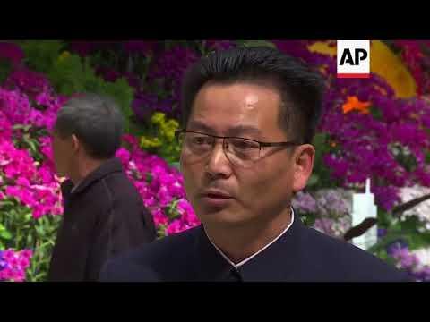 North Koreans mark anniversary of Kim Il Sung's birth