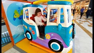 WHEELS ON THE BUS * Power Wheels Truck * Kids Song