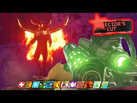 IW ZOMBIES SUPER EASTER EGG DEVIL BOSS FIGHT: THE BEAST FROM BEYOND EASTER EGG ENDING GAMEPLAY!