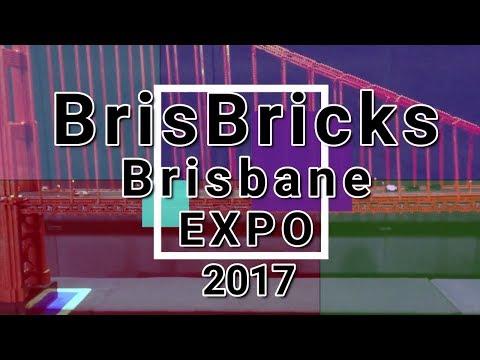 LEGO Fan Show - BrisBricks 2017 Brisbane Expo, Chandler, QLD Australia