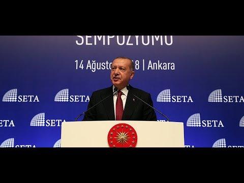 Cumhurbaşkanı Erdoğan, Kuruluşundan Bugüne AK Parti Sempozyumu'nda konuştu