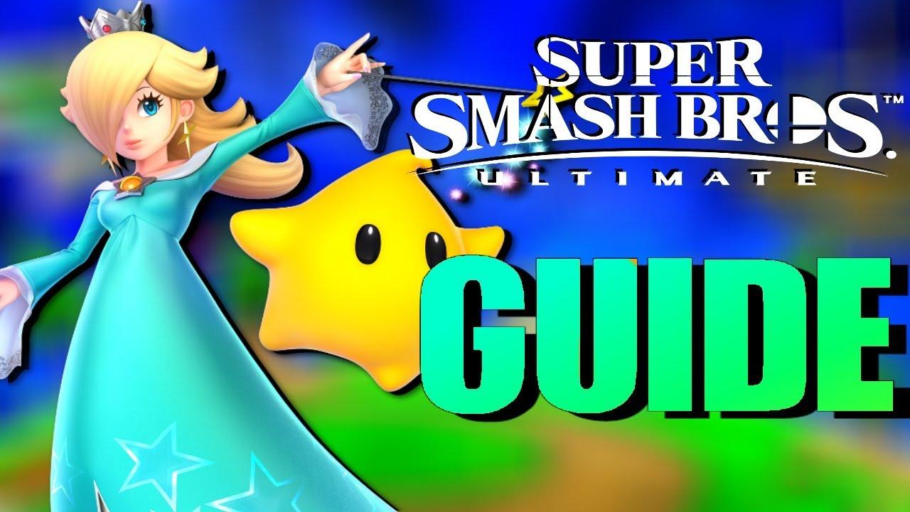 Download ROSALINA and LUMA Super Smash Bros Ultimate Guide! [Super Smash Bros Ultimate RosalinaTutorial]