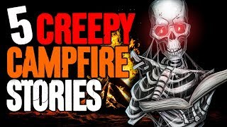 5 CREEPY Campfire Stories! - Darkness Prevails