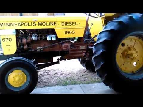 Peter Nesbitt's 1965 MINNEAPOLIS MOLINE 670 DIESEL..73 HP.SASKATOON,SASKATCHEWAN.