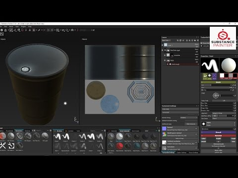 Using Substance Painter 2.3