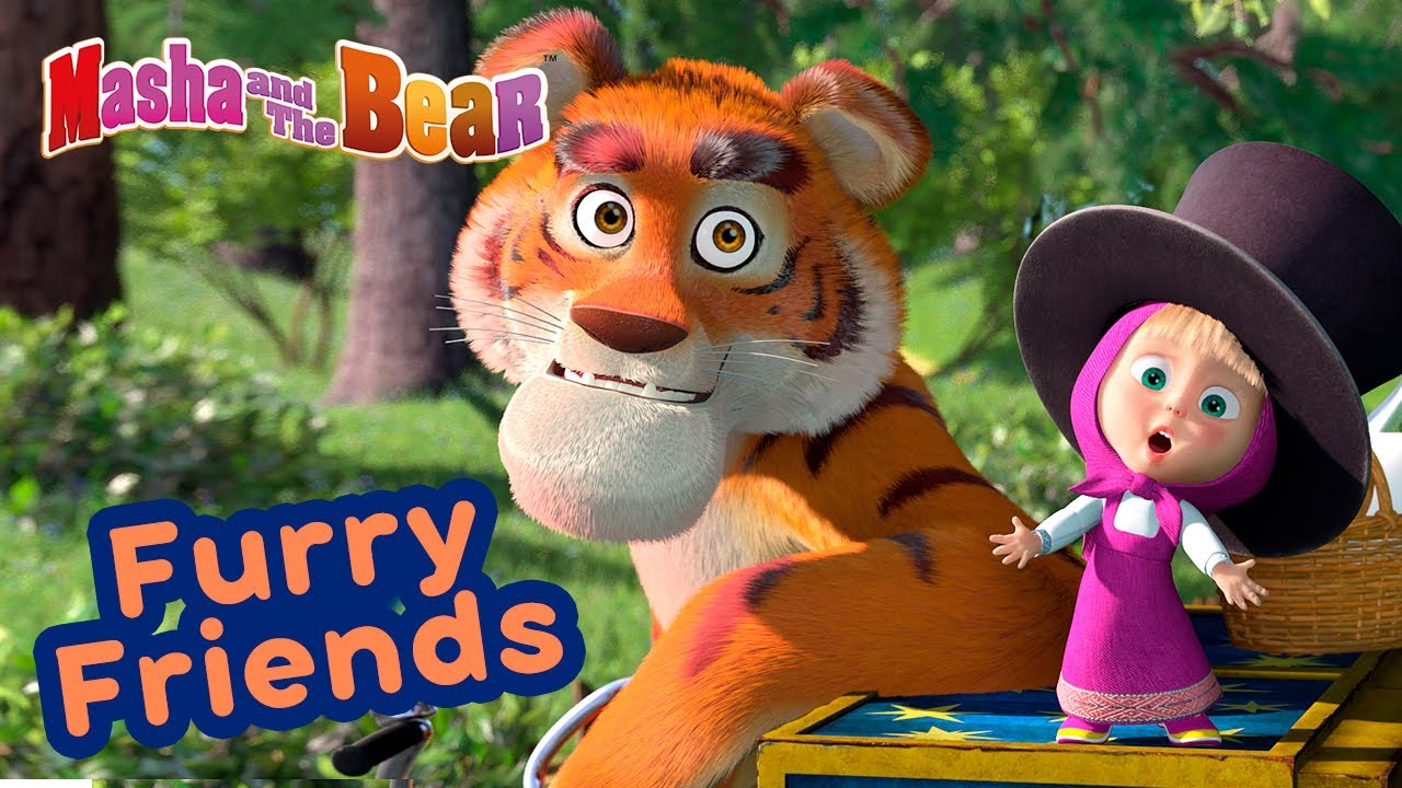 Masha and the Bear ?? FURRY FRIENDS ?? Best episodes collection ? Cartoons for kids