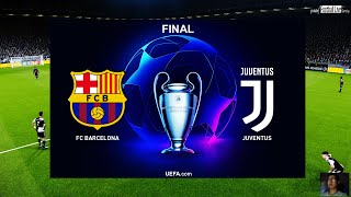 PES 2020 | Final UEFA Champions League UCL | Barcelona vs Juventus | Ronaldo vs Messi | Gameplay PC