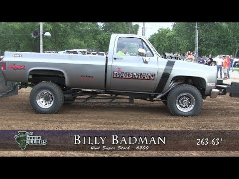 Central Illinois Truck Pullers - 2017 Butler Homecoming - Butler, IL Truck Pulls