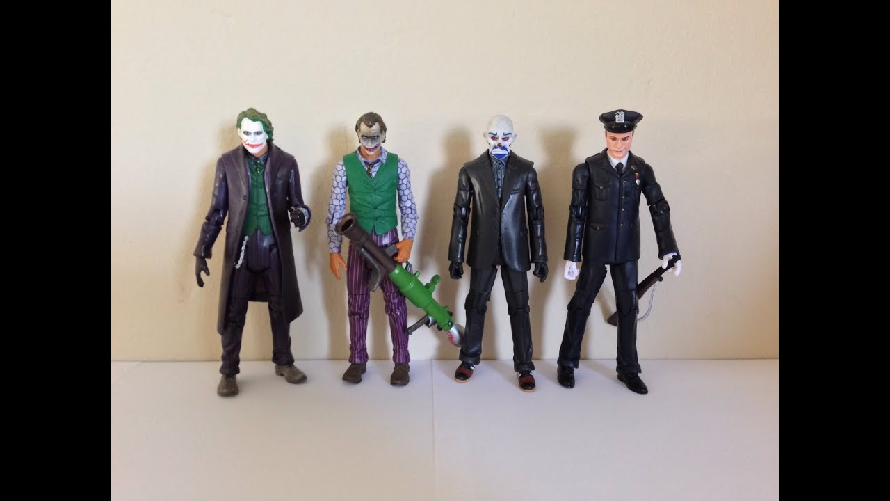 mattel batman movie masters joker comparisons and reviews