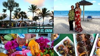 Taste of St. Croix 2017 with The Squishy Monster