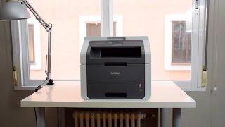 Brother DCP-9015CDW | Impresora láser completa y eficiente | Set Up & Review!