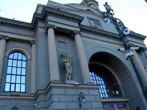 16.04.2019г жд Киевский вокзал города Москва.