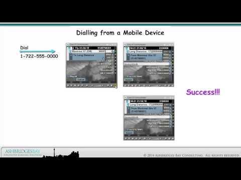 Enterprise 20 Dial Plan Build - Mobility (Part 2)