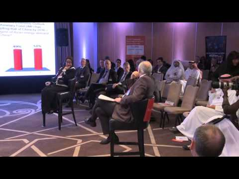 "Panel Discussion on ""Asia Outlook"" at the Gulf Intelligence Doha Energy Forum"