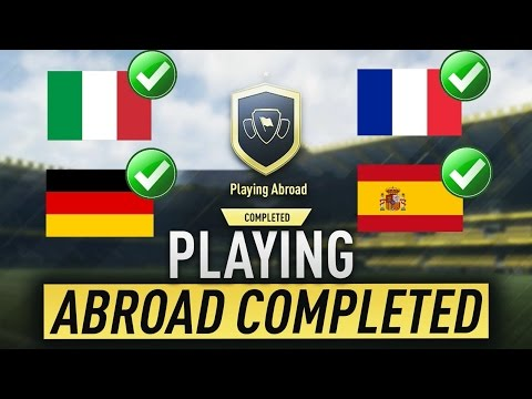 Playing Abroad SBC Cheapest Solutions | Squad Building Challenge | FIFA 17