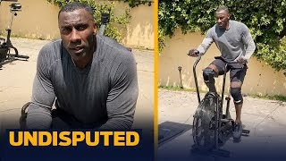 Shannon Sharpe's Home Workout Plan: Train Like An NFL Hall of Famer | UNDISPUTED