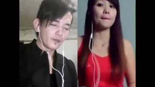 Herry Tjhen Vs. Liu Fung Mei ( Xiao Wei ) Sing karaoke By smule.