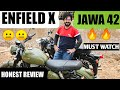 When A RE Lover Rides JAWA 42   MY HONEST RIDE REVIEW - A BIG DISAPPOINTMENT FROM !!