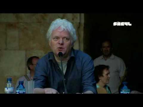 Rueda de prensa con Heiner Goebbels (30/05/2010)