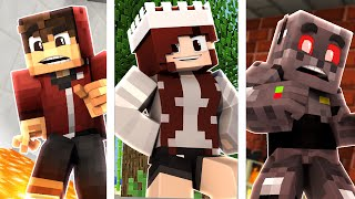 Minecraft Death Swap: 3 Way Edition! (Funny Moments)
