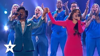 Performing With The Stars At The Finale on America's Got Talent 2021 | Got Talent Global