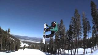 Frontside 900 on a kicker with Red Gerard   The Best Snowboarding Tricks
