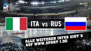 Italien - Russland 1:10   Highlights   EISHOCKEY WM 2017