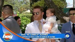 Lo que no se vio del bautizo del hijo de Saúl 'Canelo' Álvarez | Hoy