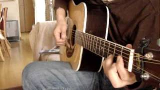 ギター倶楽部Vol.9より 清水義文氏のアレンジです。ギターはK.YAIRIのDY...