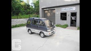 1991 Daihatsu Atrai Turbo Intercooler Super Cosmic Roof Kei Mini Van AMAZING!