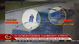 İzmir'deki adliye saldırısında teröristlerin kendine siper ettiği araçta silahsız bir er vardı